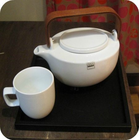 theiere ovale et mug