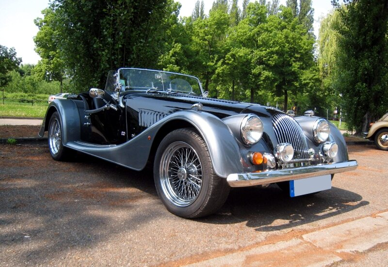 Morgan 4 convertible (Retrorencard mai 2009) 01