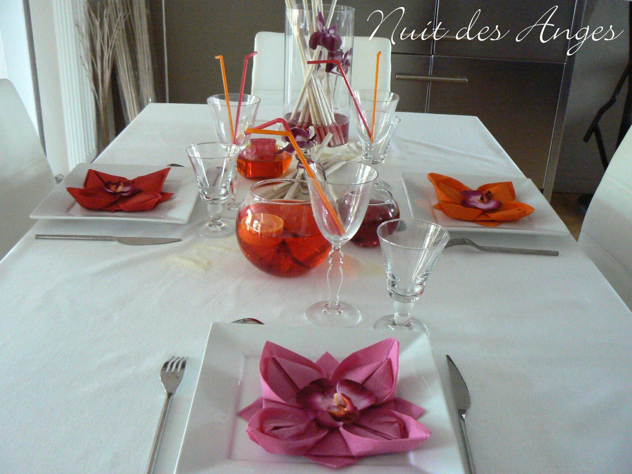 nuit des anges dcoratrice de mariage dcoration de table exotique 003 - Deco Table Exotique