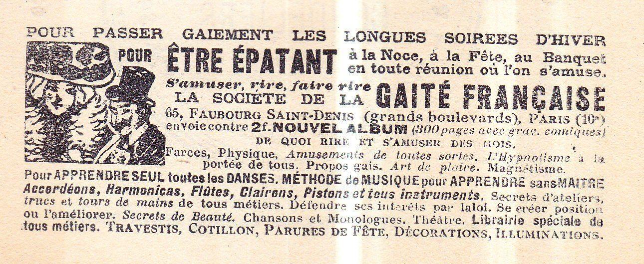 Lou Garounés 1931 Publicités (14)