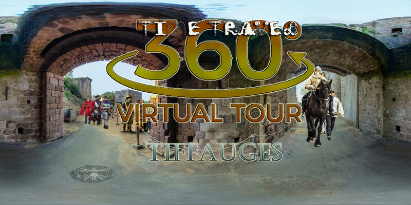 TIME TRAVEL VIRTUAL TOUR CASTEL TIFFAUGES