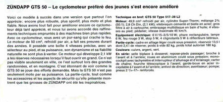 GTS50frenchTexte