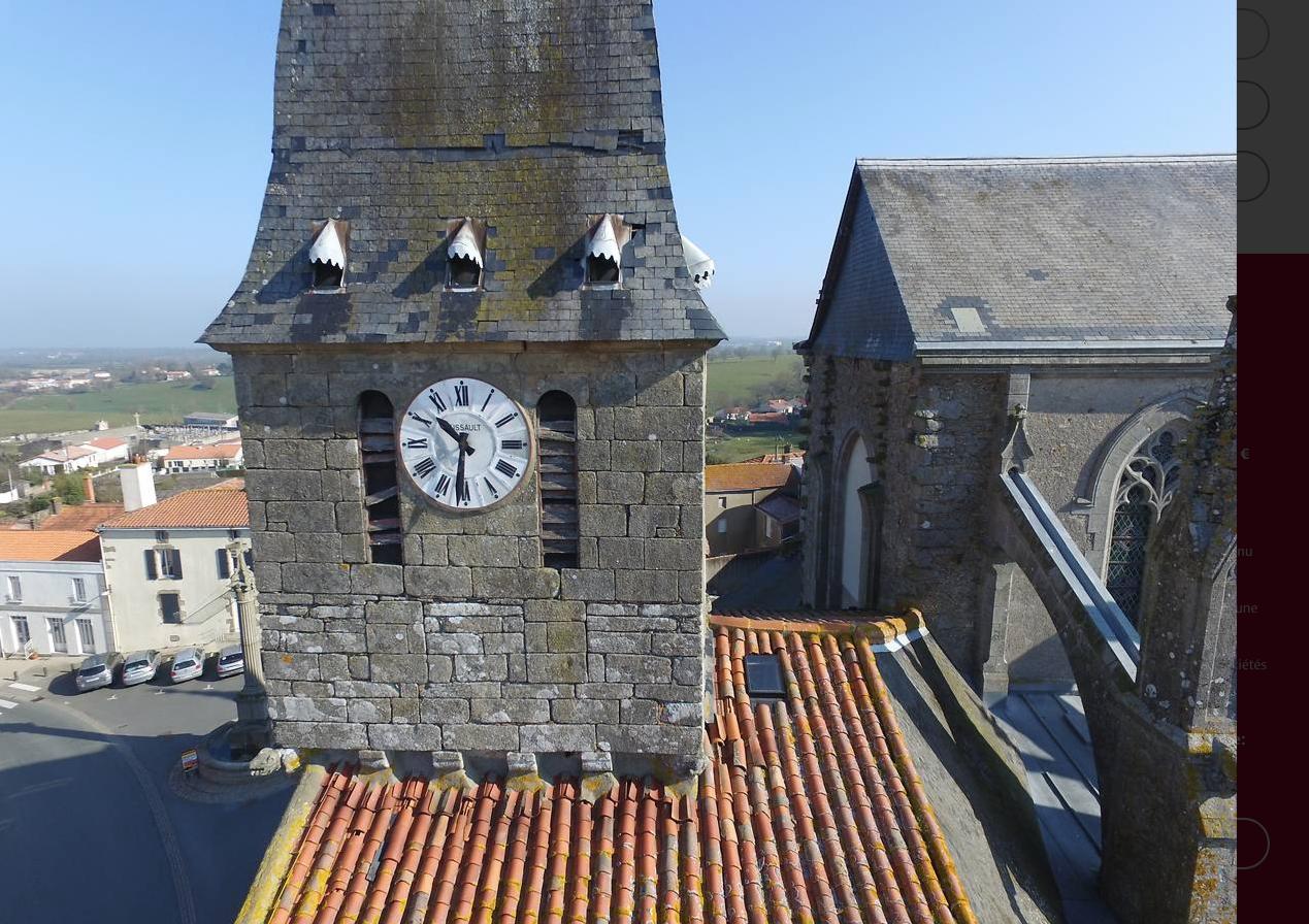 Un projet de restauration du clocher de La Gaubretière
