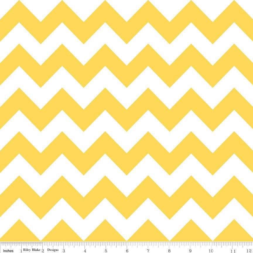 chevrons jaune