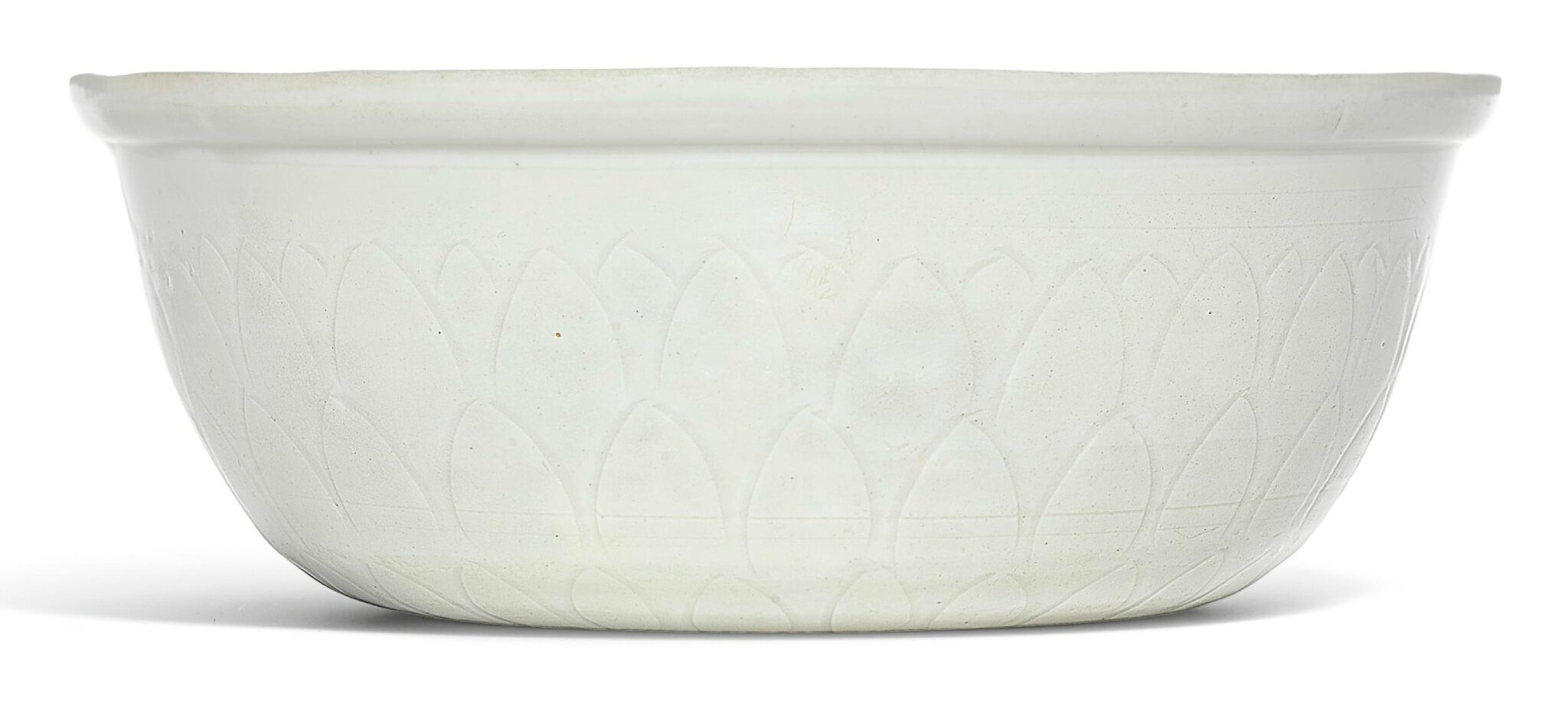 A rare 'Ding' 'fish' basin, Northern Song dynasty