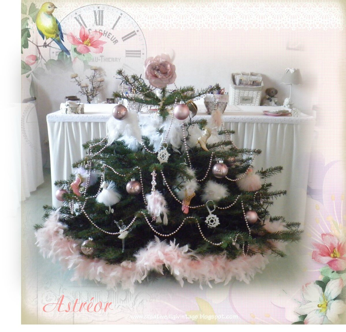 Mon Sapin Shabby Chic Astreor
