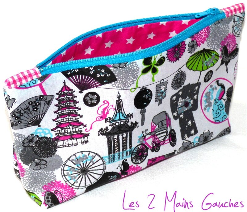 trousse girly japonisante