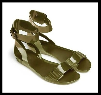 hunter original sandal 8