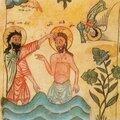 Le baptême de jésus. marc 1, 9-13 et parallèles. symboliques développées dans les premiers siècles. réflexions pastorales