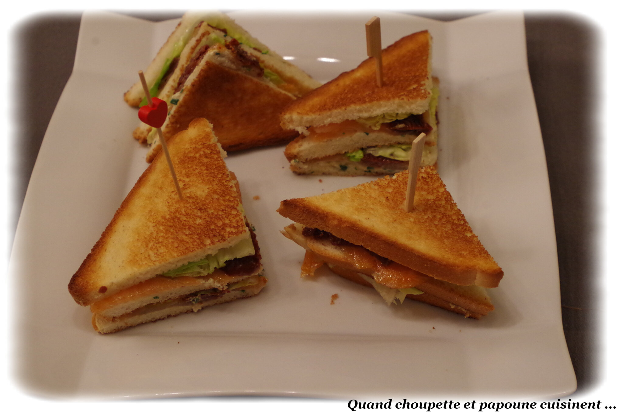 CLUB SANDWICH AU SAUMON FUME