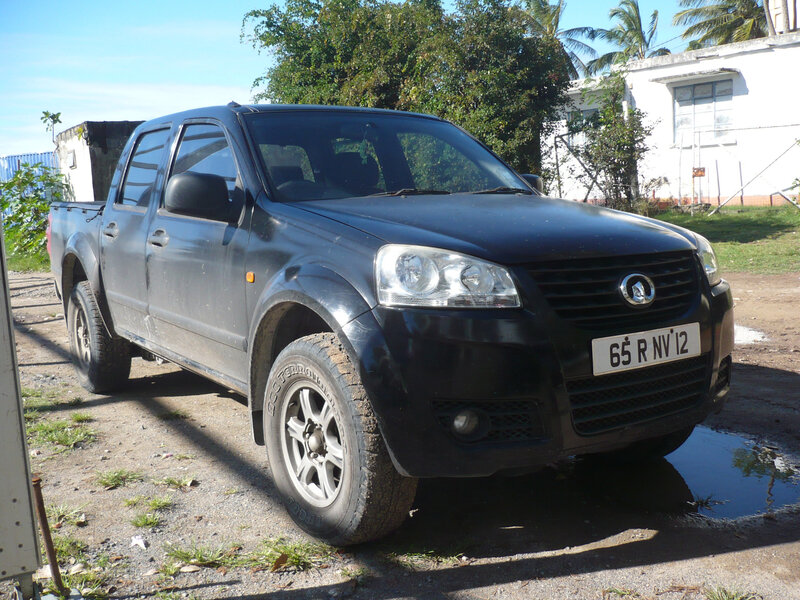 GREAT WALL MOTORS Steed pick-up double cabine 2012 Port Mathurin (1)