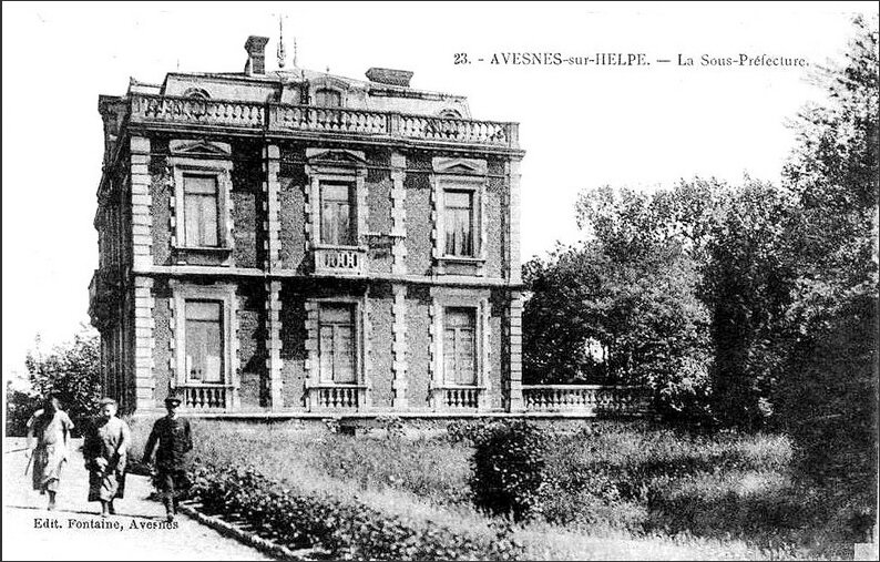 AVESNES-Sous-Préfecture
