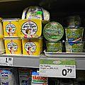 Mlle moutarde en reportage dans un supermarché autrichien