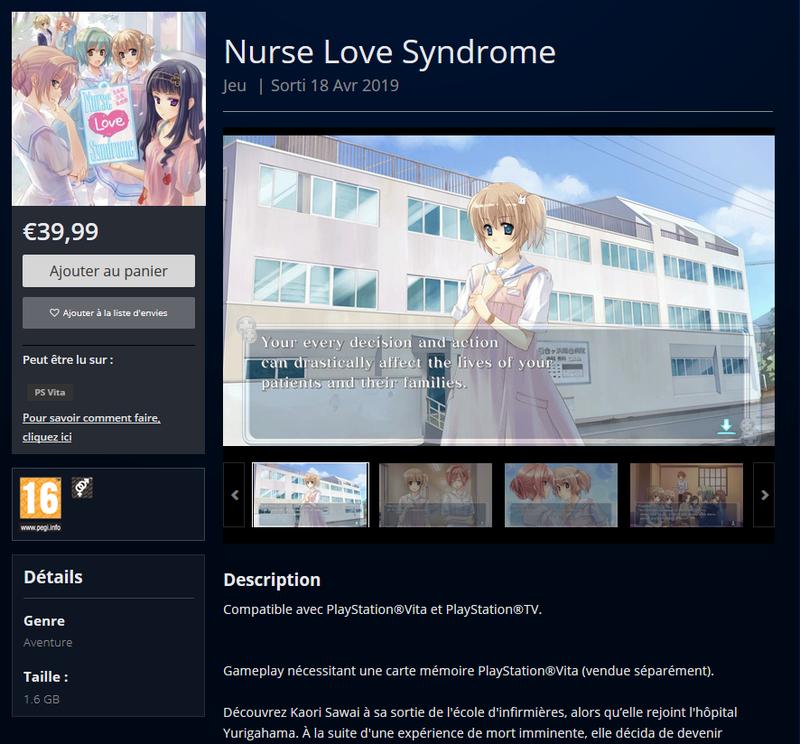 nurse love vita