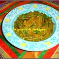 Tagine d'haricots verts