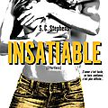 Indécise tome 2 : insatiable de s.c. stephens (thoughtless #2 - effortless)