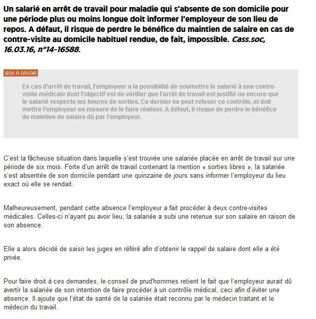 7918f1a9fdc JURIDIQUE  Arrêt de travail - Cfdt de la Cpam de Paris