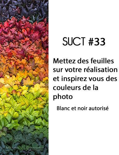 SUCT (Mo) - INSPI+CONSIGNES#33 - Di 14 oct 18