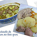 Baeckeofe de faisan au foie gras