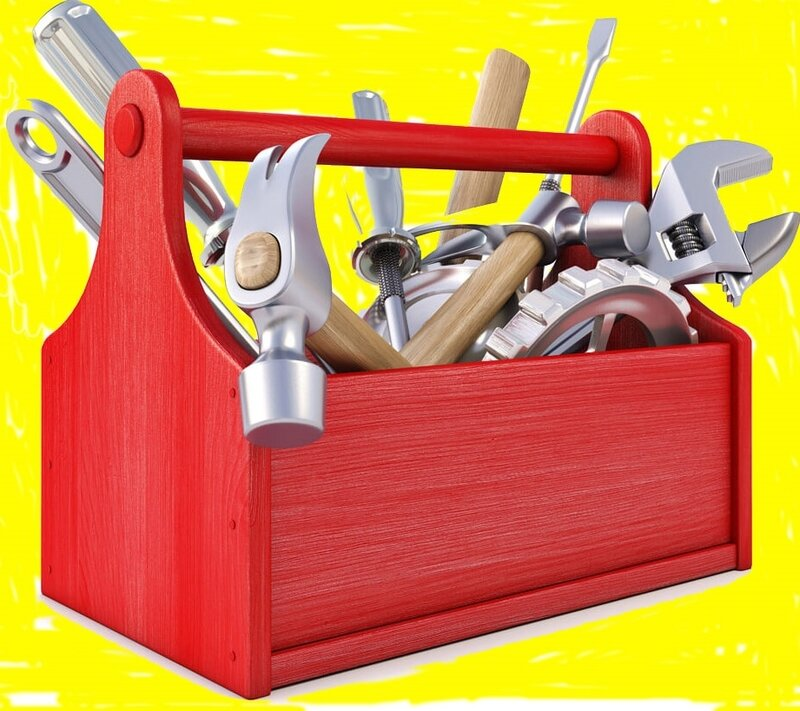 BOITE A OUTILS ROUGE