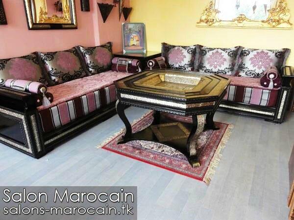 Déco salon marocain 2014 - Salon marocain moderne 2014