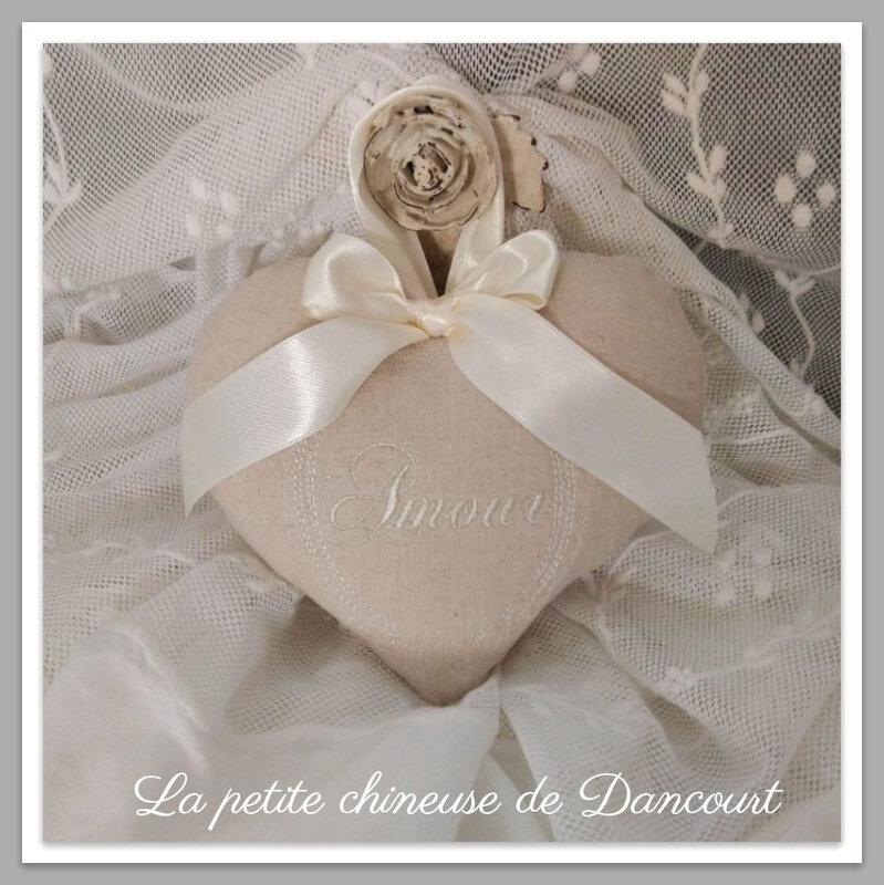 Coeur Amour la petite chineuse de Dancourt