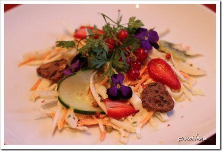 Salade chou blanc & fraise 1-1