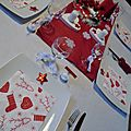 Kit noêl : noël blanc et rouge