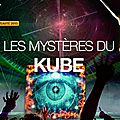 Les mystères du kube - nouveauté 2015