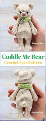DIYHowto-Crochet-Bear-Toy-Free-Patterns-16-