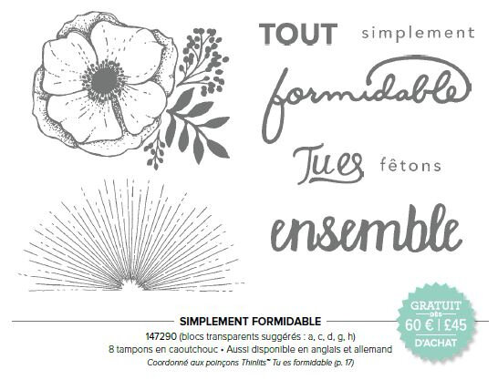 147290 SIMPLEMENT FORMIDABLE