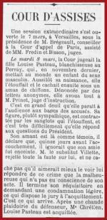 Le Progrès de Rambouillet – 12 MARS 1910