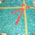 gâteau-cadeau