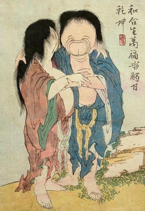 Hokusai dessin 03