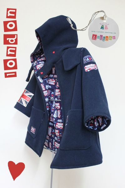 Manteau London Profil