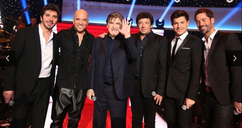 Le grand show Serge Lama invite @ObispoPascal sur France 2 + Coulisses du show replay & photos
