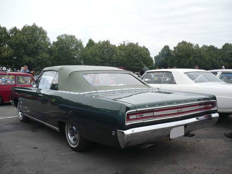 PLYMOUTH Sport Fury 2door convertible Illzach (2)