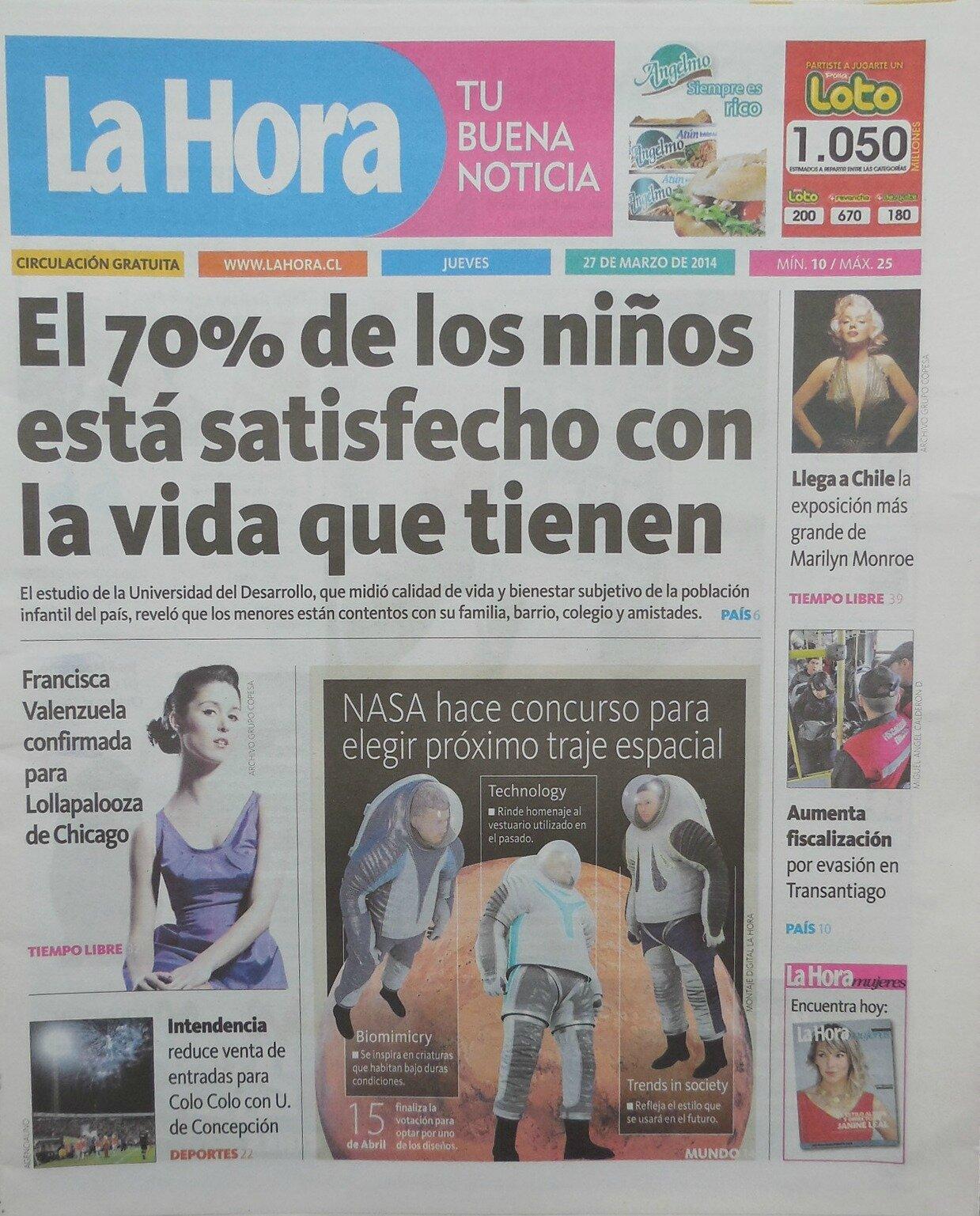 La Hora (Chi) 2014
