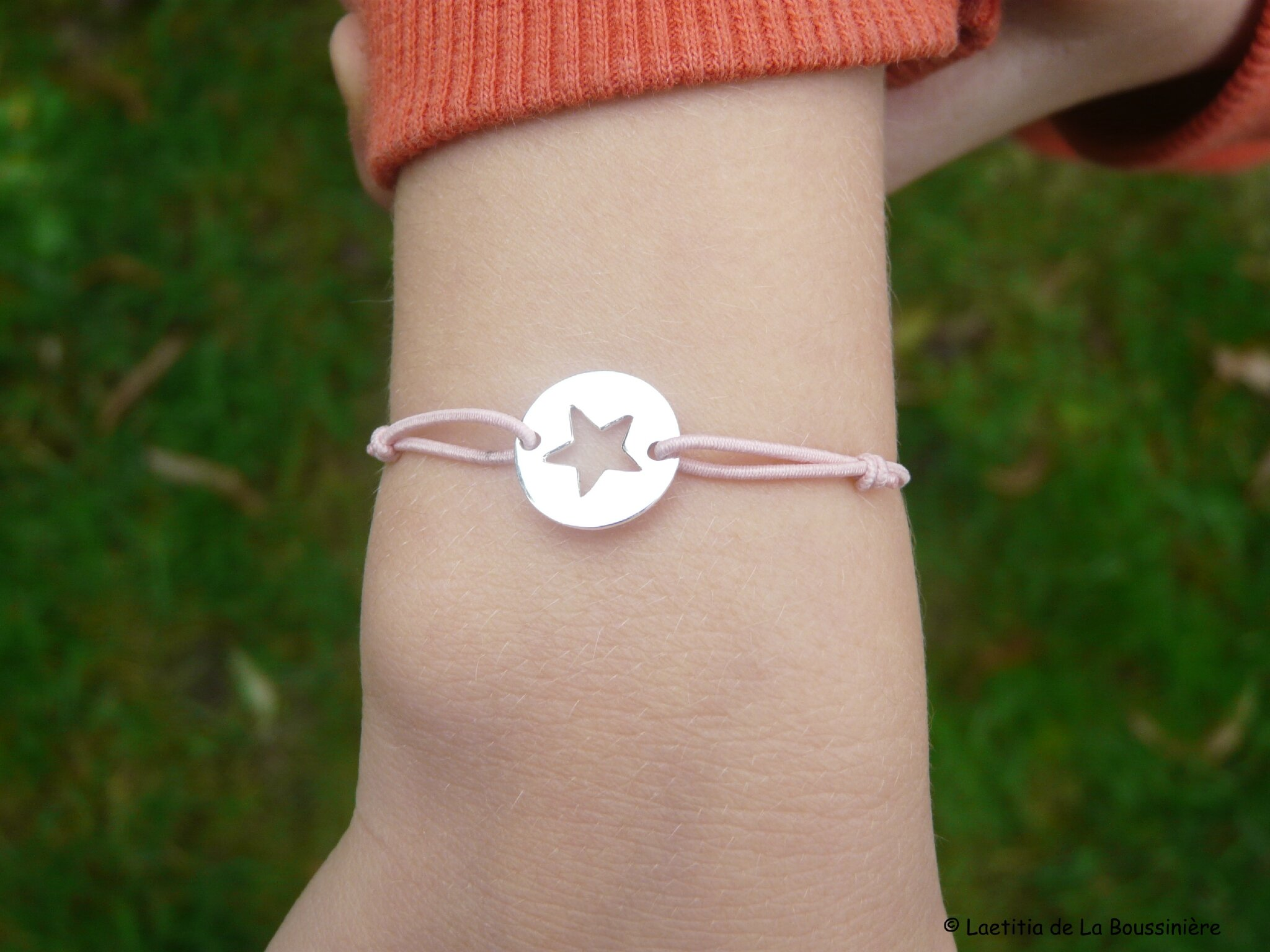 Bracelet Pastille Etoile Girl