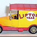 Altaya Corgi 16 Ford T Liptons Teas A 4