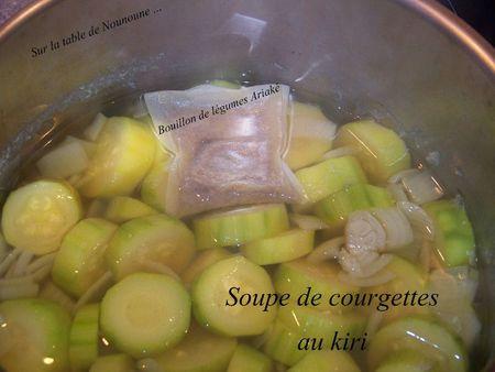Soupe de courgettes au kiri 2