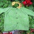 Baby ange des tricots de cécile