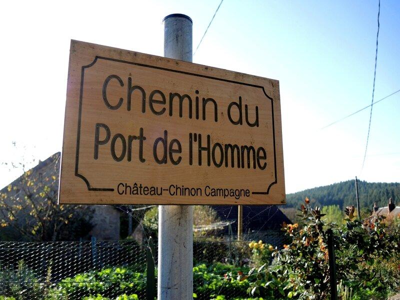 Les Bruyères, chemin du Port de l'Homme (58)