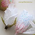 fleurs de papier de soie 1