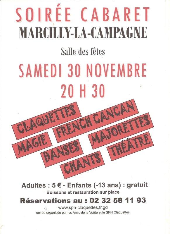 cabaret marcilly