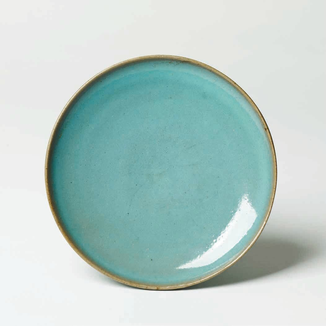 Jun-Ware Plate, Jin Dynasty, 1127 – 1279 A