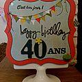 40 ans !!!!