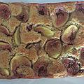 Gâteau aux figues (au thermomix ou sans)