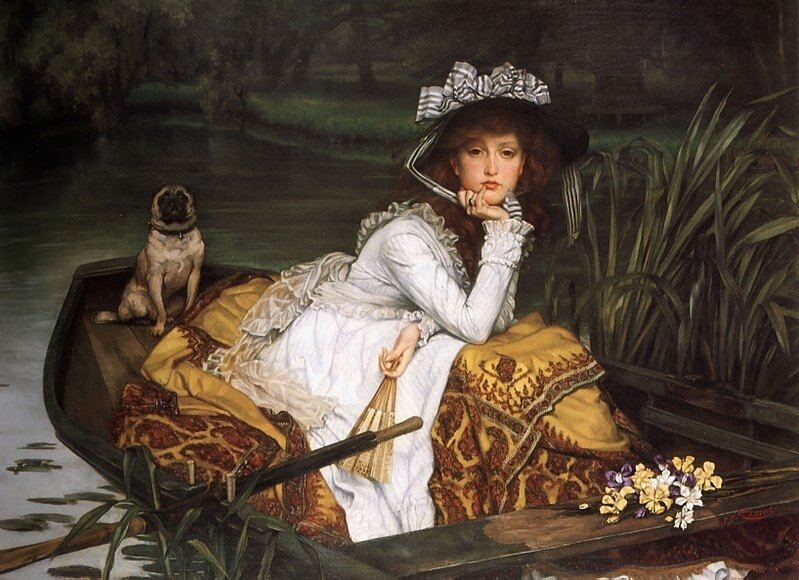 800px-James_Tissot_-_Young_Lady_in_a_Boat