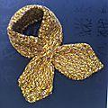 Tour de cou et son bonnet spirale (en vente sur alittlemarket, aiguilletine et crochetine)